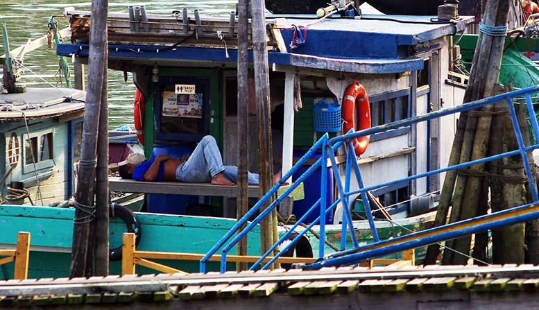 bateau de pêche malais 9