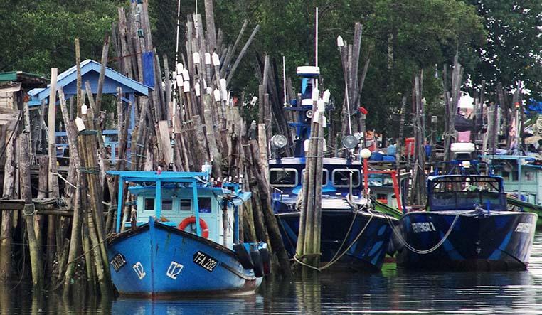 Bateau de pêche malais 11