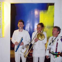 Vernissage en fanfare