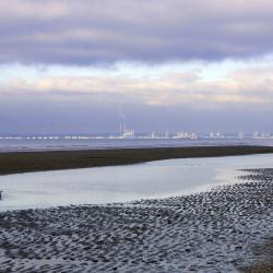 Le Havre vu de Deauville